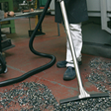 Vacuuming Solid Dust and Wet Dirt