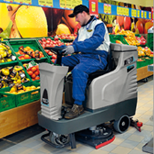 Clean, Wash and Vacuum Hypermarkets and Malls