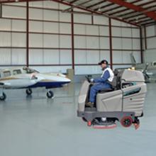 Clean, Wash and Vacuum Hangars