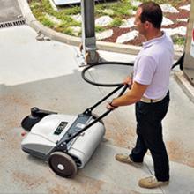 Sweep & Vacuum Small Areas