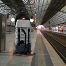 Clean, Wash and Vacuum Train Stations